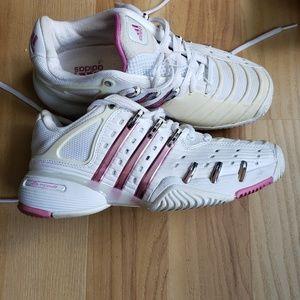 Addidas metallic sneakers size 7